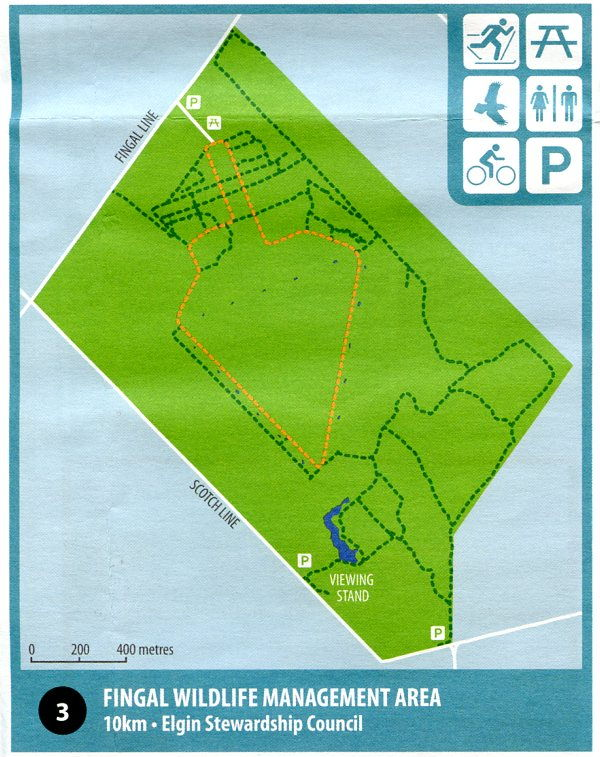 Map of Fingal WMA