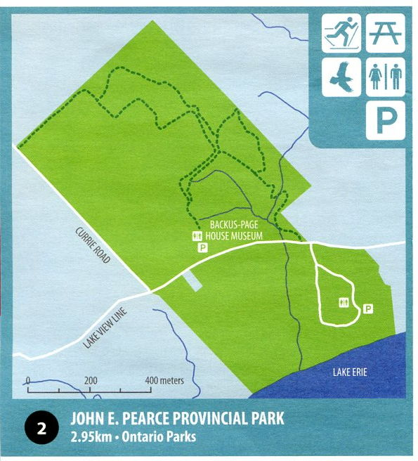 Map of John E Pearce PP