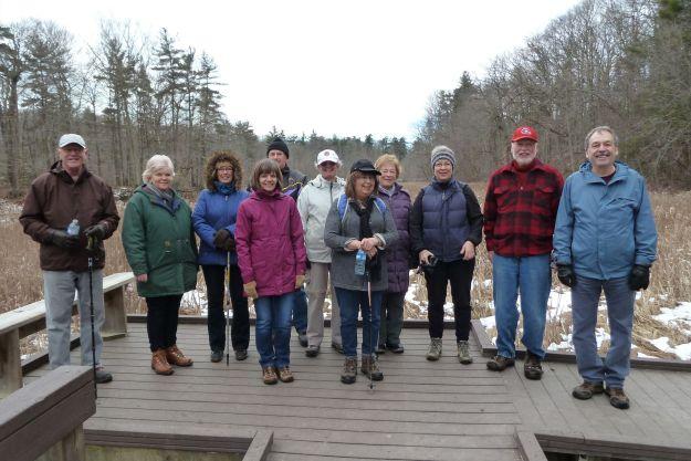 Hiking Springwater Forest Trails