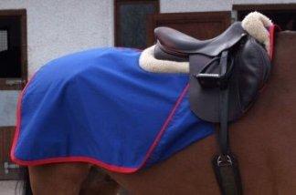 Couvre reins coton cheval entrainement
