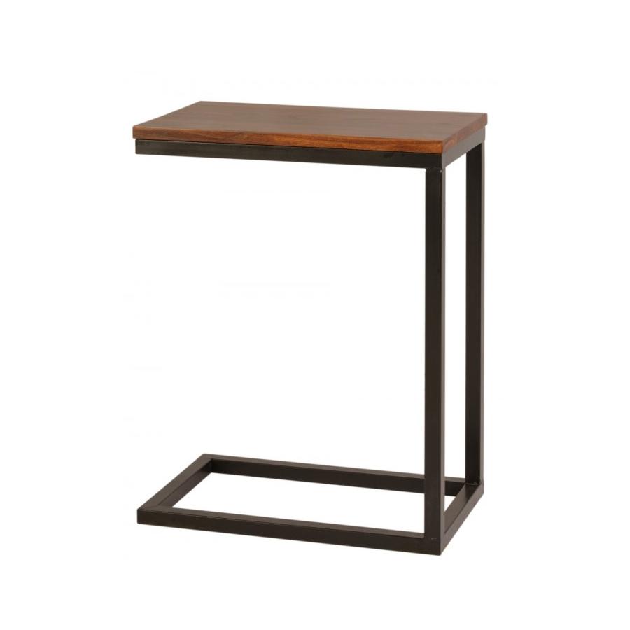 cama sofa forja pallet table tutorial mesita auxiliar hierro y madera - el globo muebles