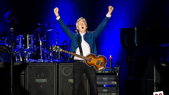 51 mil fanáticos aplaudieron en Chile a Paul McCartney