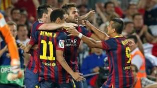 Barça Liga Cesc Ney,ar Alexis Messi