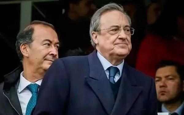 Florentino Perez reunión con Juventus