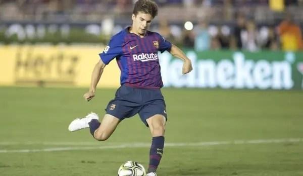 Joya del Barça y futuro candidato al Balón de Oro — Riqui Puig
