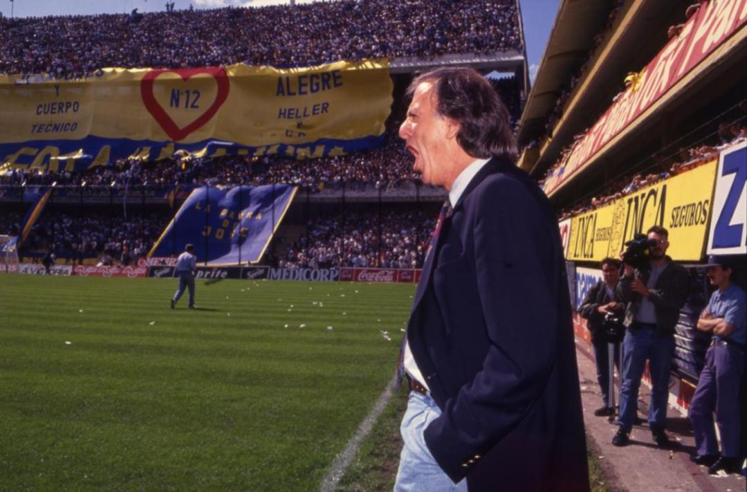 A BOCA lo dirigió en dos oportunidades: 1987 y 1993/94.