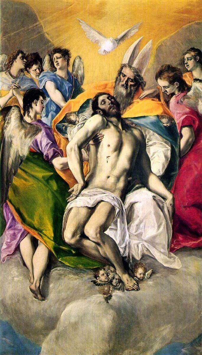 Ascension of jesus - by El Greco