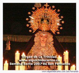 Virgen de la Trinidad San Fernando