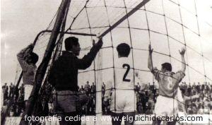 Gol de DEvesa para el C.D. San Fernando