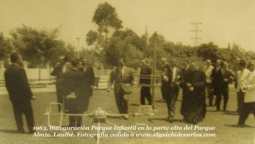 Inauguración del Parque de los Patos