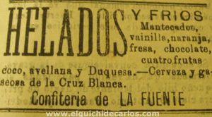 Mantecao o mantecados en La Isla
