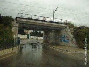 Puente de la Alcantarilla hacia el Poblado Naval San Carlos, La Carraca o Fábrica de la Bazán