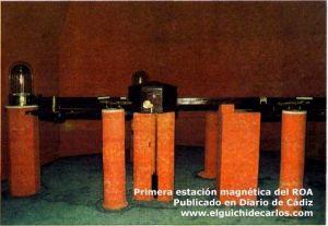 Primera estacion magnetica