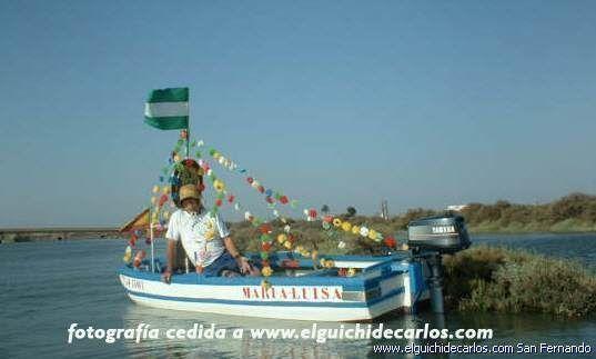 Procesión marítima. Feria de San Fernando