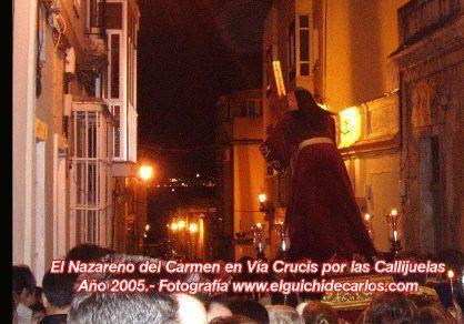 Via Crucis Nazareno del Carmen
