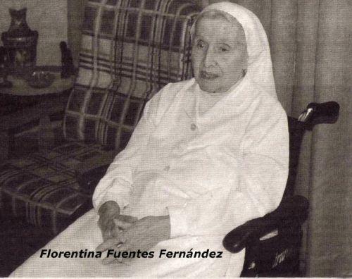 La hermana Florentina Fuentes Fernández