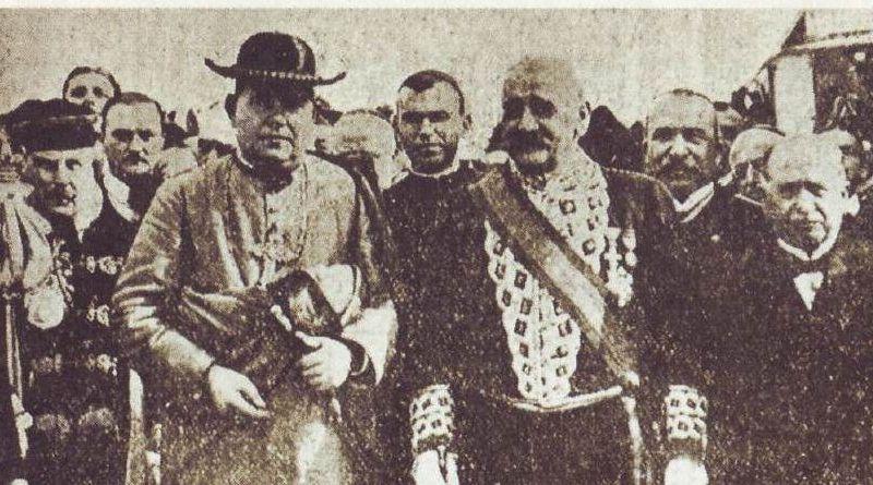 Alcalde de San Fernando y el Obispo