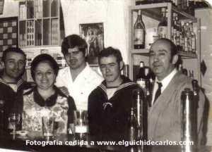 Familia Espinosa, propietarios de La TIenda Chica