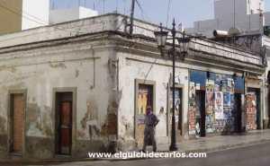 Local de la tienda chica, varios años después de su cierre