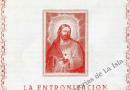 El Corazón de Jesús en la fachada del ayuntamiento