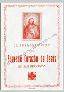 Entronización Sagrado Corazón de Jesús. Ayuntamiento