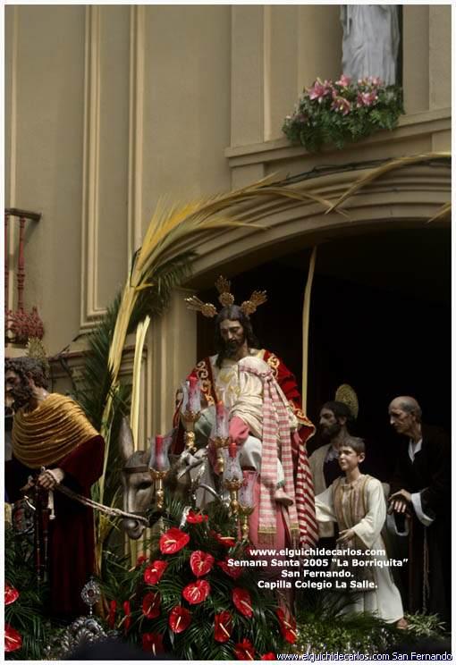 Cristo Rey - Borriquita San Fernando