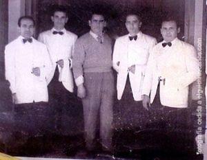 Plantilla del Bar Avenida, San Fernando