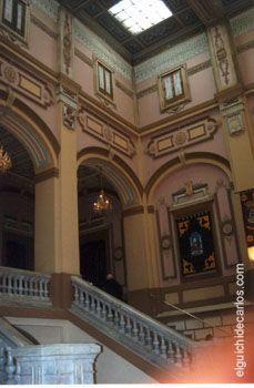 Interior ayuntamiento san fernando entrada