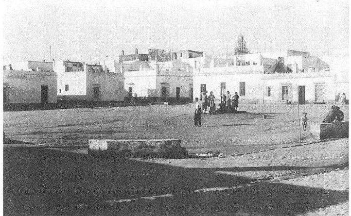 antigua plaza sanchez de la campa o plazoleta de las vacas