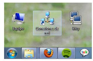 conexiones de red en windows 7