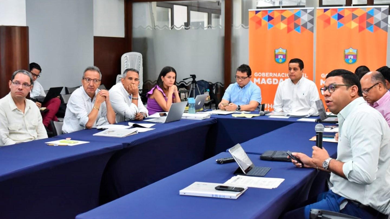 El pasado 22 de enero fue la primera junta de este 2020 de la empresa Aguas del Magdalena.