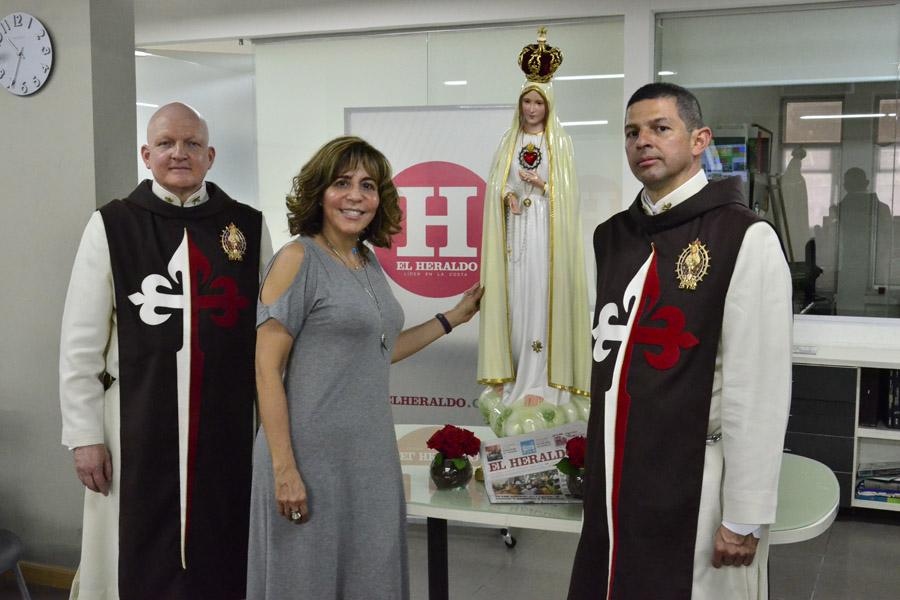 Caballeros de la Virgen conmemoran 100 aos de Ftima  El Heraldo