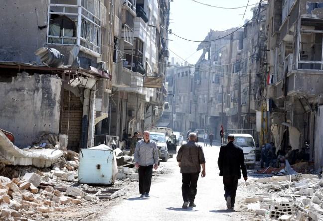 Resultado de imagen para ataque químico en Siria