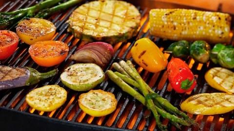Resultado de imagem para churrasco vegetariano