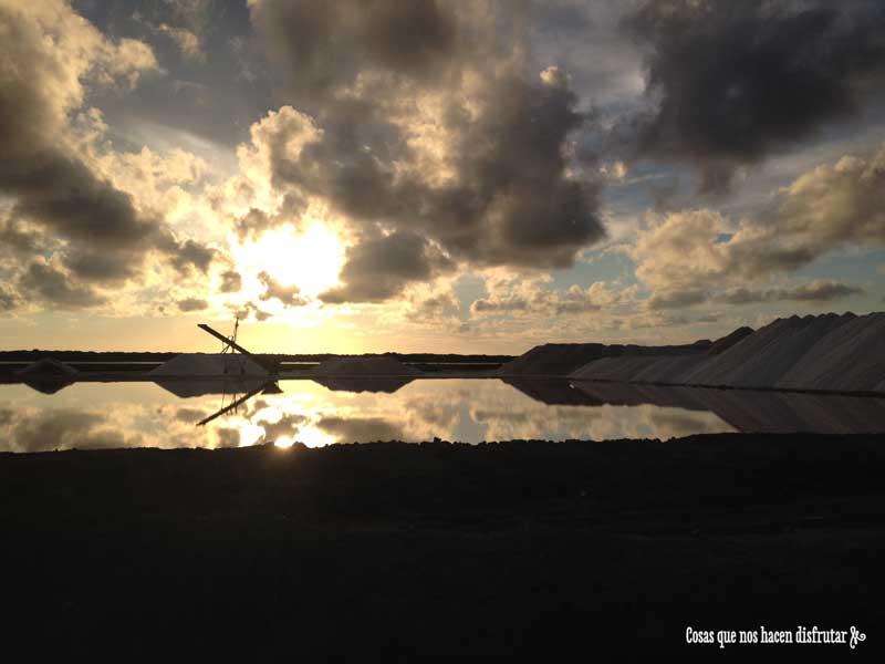 Salinas de Bonanza, en bici por un paraíso natural