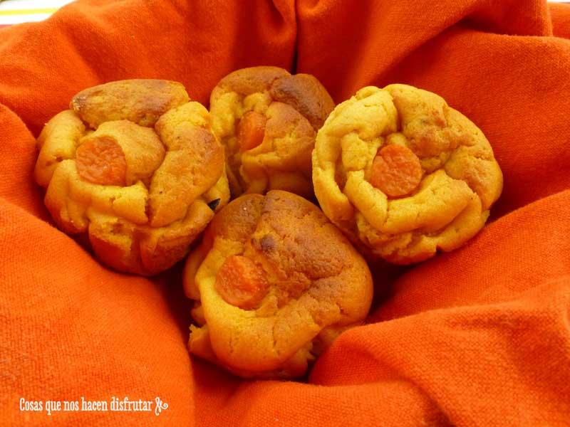 Deliciosas magdalenas de boniato asado y queso