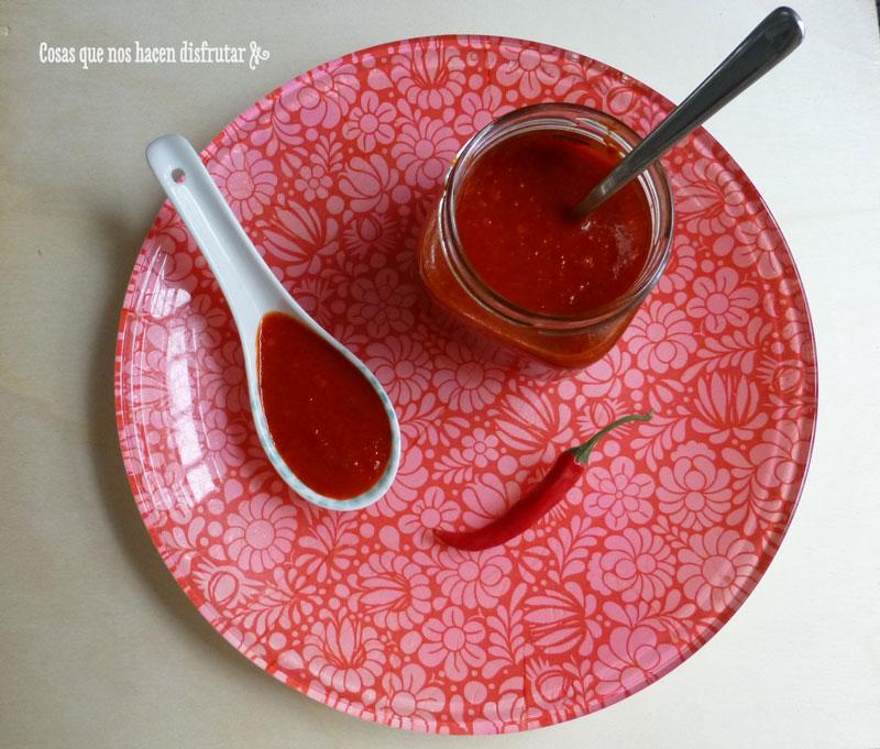 Salsa Sriracha casera