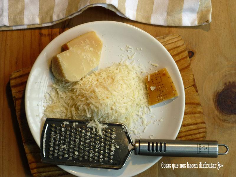 Risotto de espinacas y langostinos