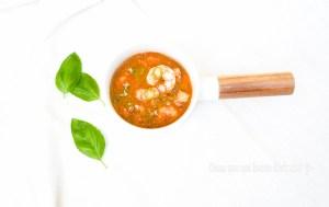 Langostinos chiguatos en salsa de Tamarindo.