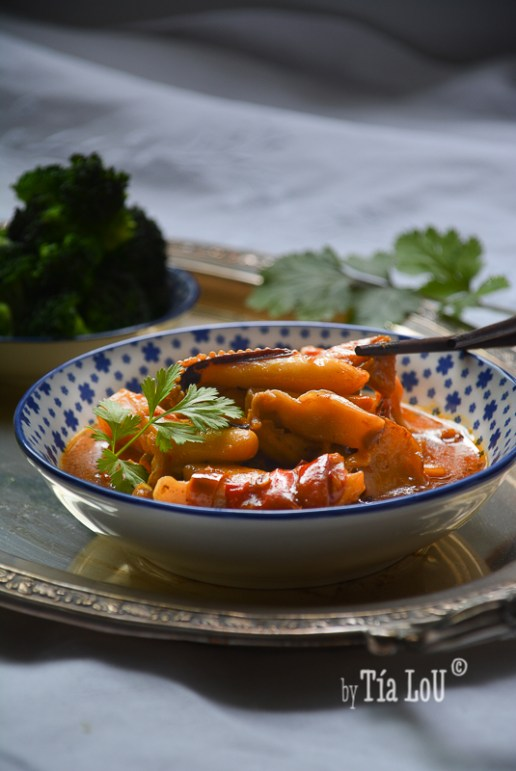 Curry Madrás de choco