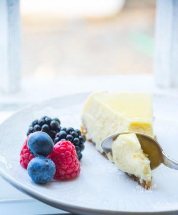 Tarta de queso ligera y exprés by tia lou