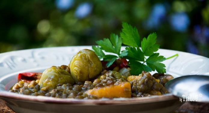 Lentejas estofadas con verduras de temporada by tia lou (2)