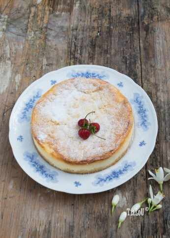 Cheesecake de mascarpone y limon by tia lou