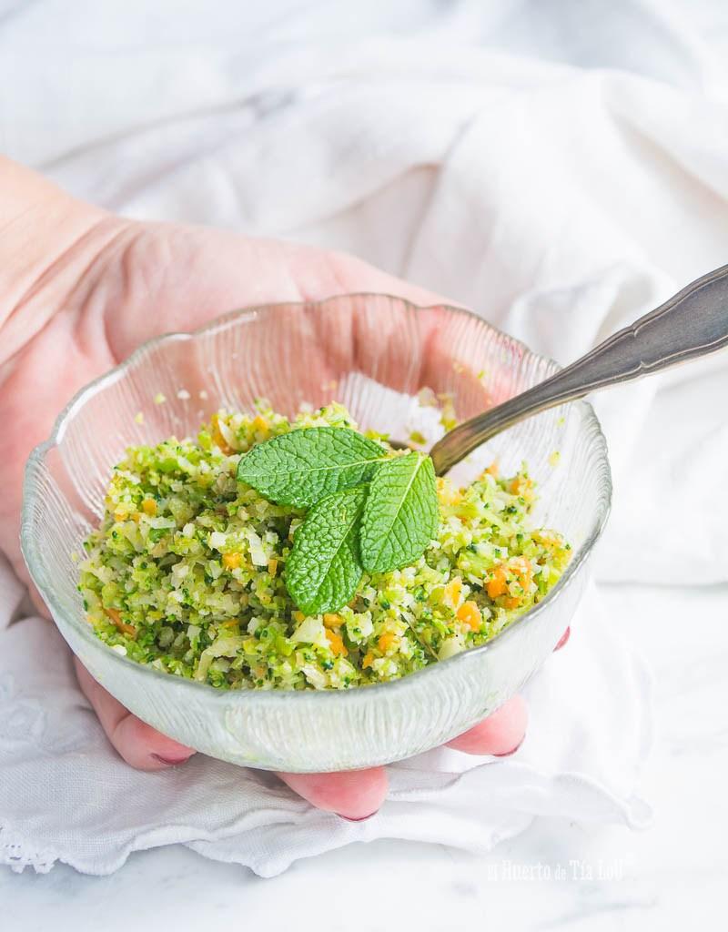 Cuscus vegetal tricolor (2)