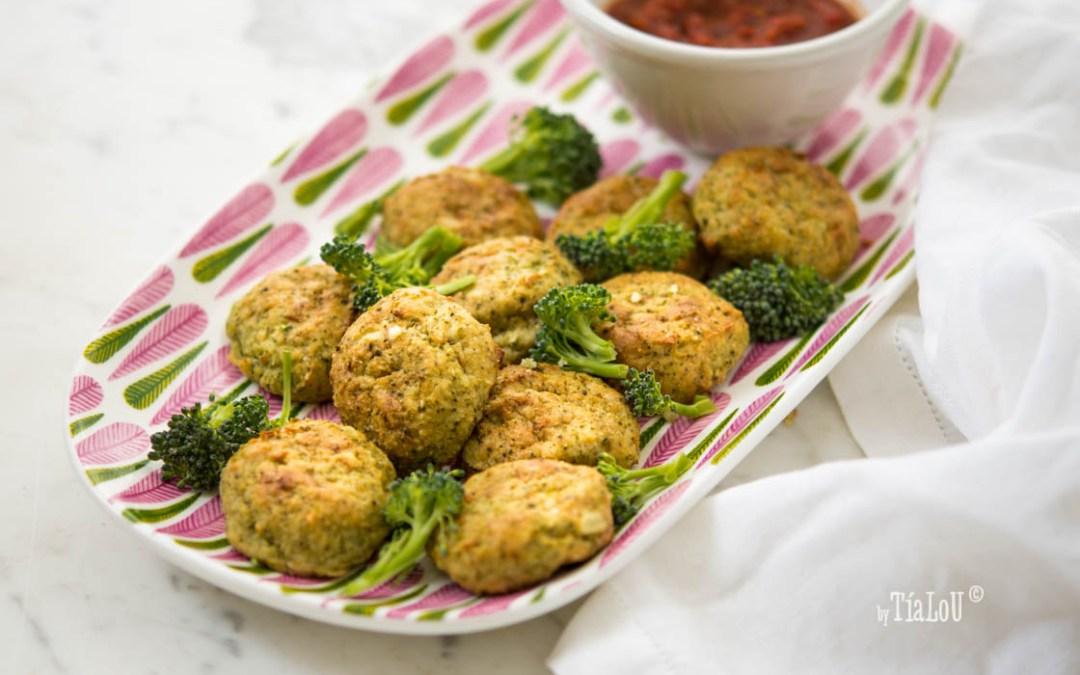 Albóndigas de brócoli,patata y mozzarella