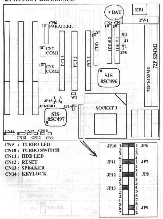 LS-486e rev:D Motherboard
