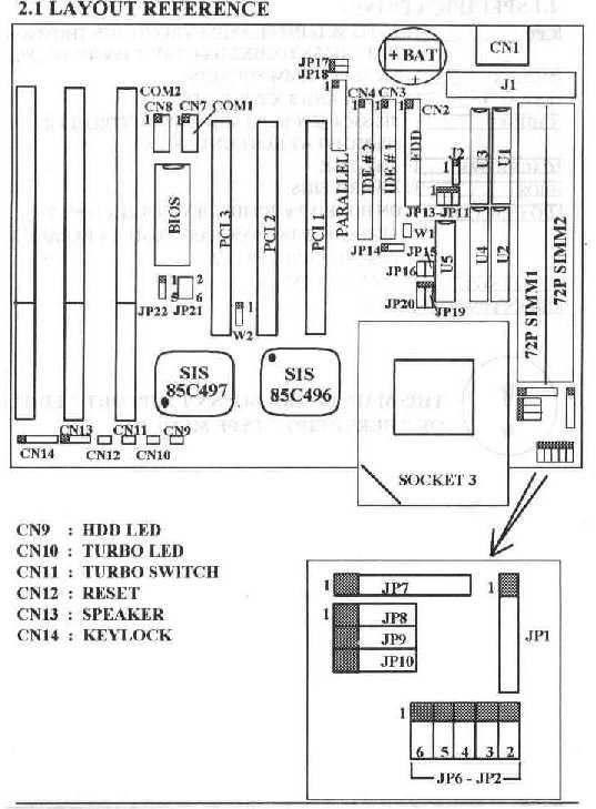 LS-486e rev:F Motherboard
