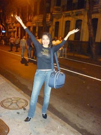 Eliana Printes na Mém de Sá
