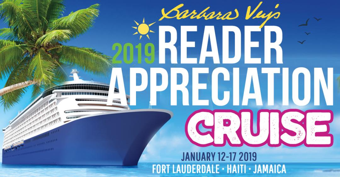 Barbara Vey Reader Appreciation Cruise