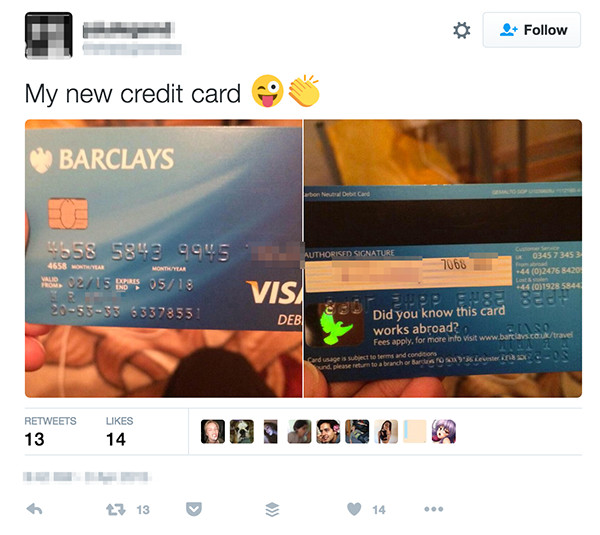 How to get credit card for dating sites